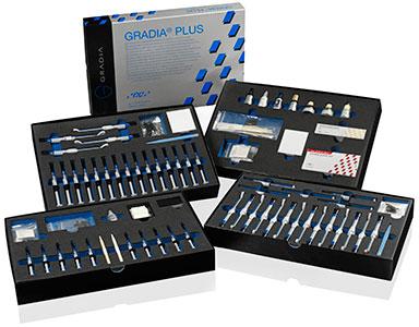 GC Gradia Plus - complete packs